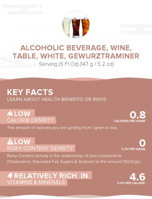 Alcoholic beverage, wine, table, white, Gewurztraminer