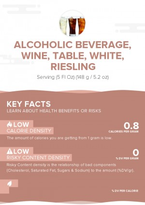 Alcoholic beverage, wine, table, white, Riesling