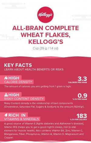 All-Bran Complete Wheat Flakes, Kellogg's