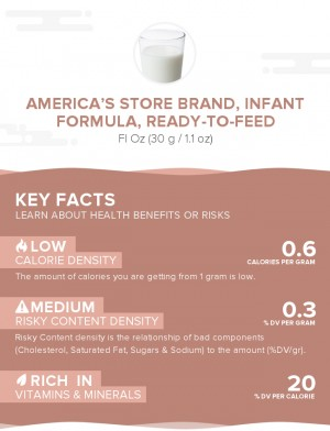 America's Store Brand, infant formula, ready-to-feed