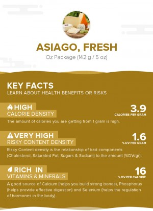 Asiago, fresh