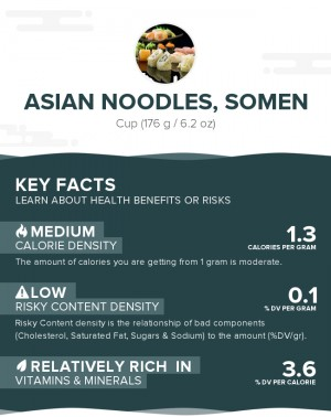 Asian Noodles, Somen