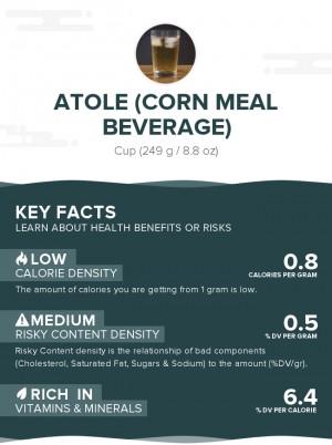 Atole (corn meal beverage)