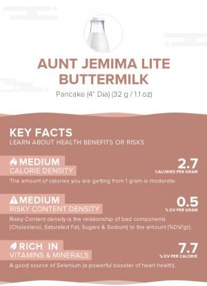 Aunt Jemima Lite Buttermilk
