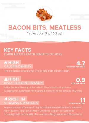 Bacon bits, meatless