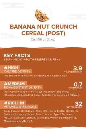 Banana Nut Crunch Cereal (Post)