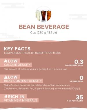 Bean beverage