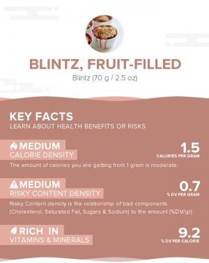 Blintz, fruit-filled