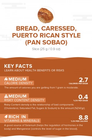 Bread, caressed, Puerto Rican style (Pan sobao)