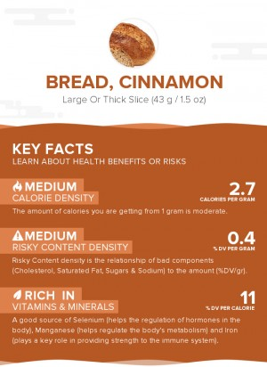Bread, cinnamon