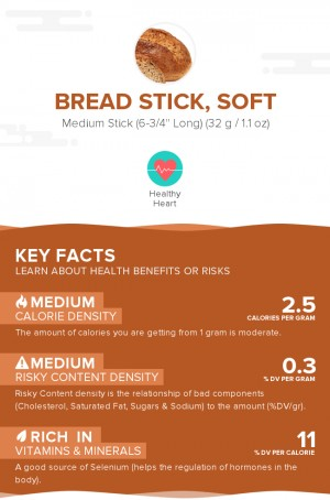 Bread stick, soft