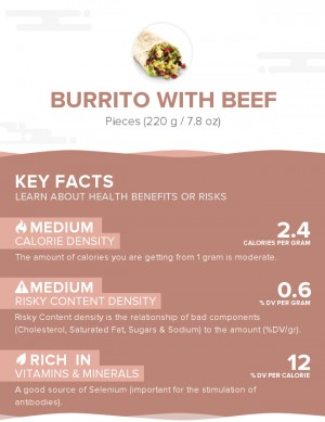 Burrito With Beef