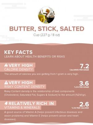 Butter, stick, salted