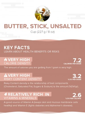 Butter, stick, unsalted