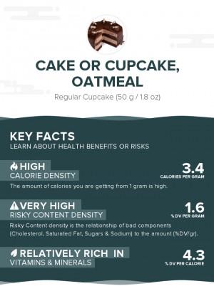 Cake or cupcake, oatmeal