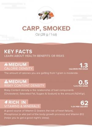 Carp, smoked