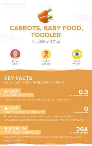 Carrots, baby food, toddler
