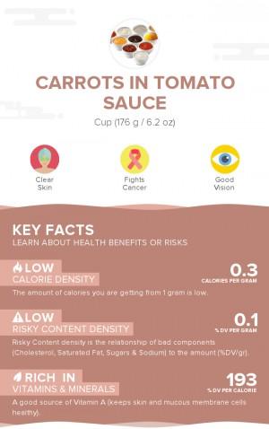 Carrots in tomato sauce