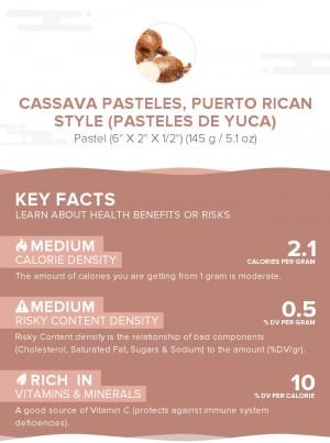 Cassava Pasteles, Puerto Rican style (Pasteles de yuca)