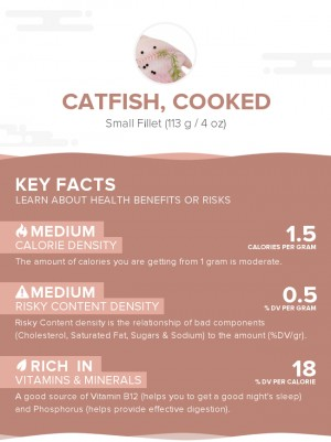 Catfish, cooked