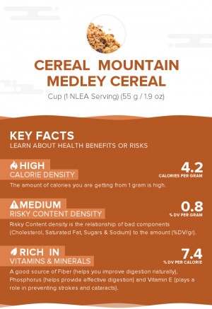 Cereal  MOUNTAIN MEDLEY cereal