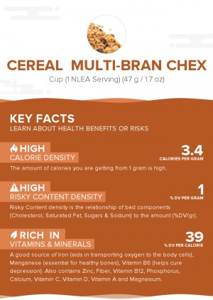Cereal  Multi-Bran CHEX