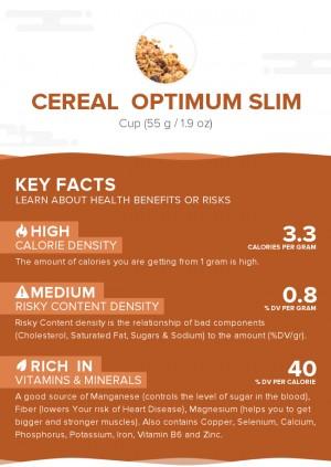 Cereal  OPTIMUM SLIM