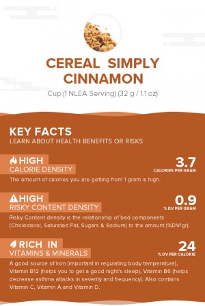 Cereal  Simply Cinnamon