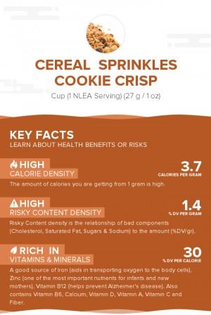 Cereal  Sprinkles Cookie Crisp