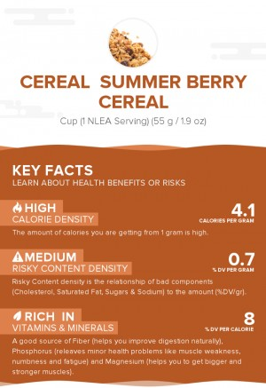 Cereal  Summer Berry cereal