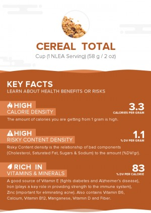 Cereal  TOTAL