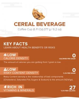 Cereal beverage