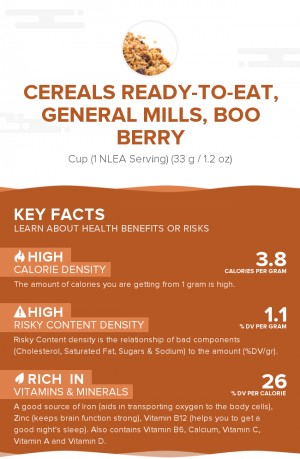 Cereals ready-to-eat, GENERAL MILLS, BOO BERRY