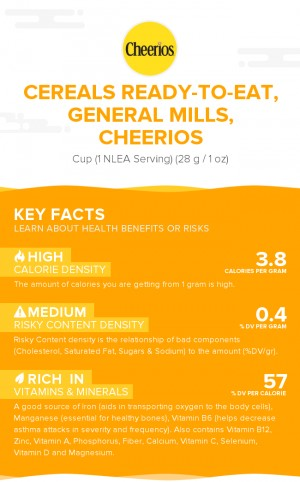 Cereals ready-to-eat, GENERAL MILLS, CHEERIOS