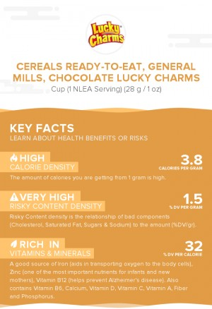Cereals ready-to-eat, GENERAL MILLS, CHOCOLATE LUCKY CHARMS