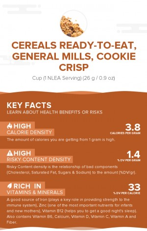Cereals ready-to-eat, GENERAL MILLS, COOKIE CRISP