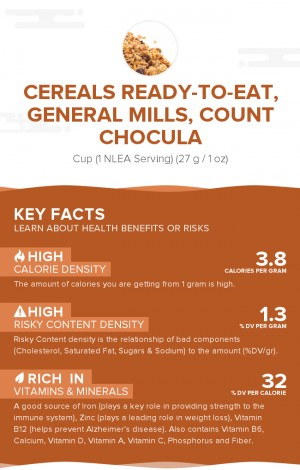 Cereals ready-to-eat, GENERAL MILLS, COUNT CHOCULA