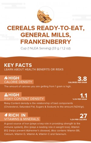 Cereals ready-to-eat, GENERAL MILLS, FRANKENBERRY