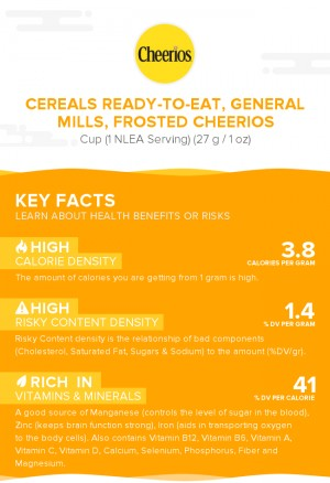 Cereals ready-to-eat, GENERAL MILLS, FROSTED CHEERIOS
