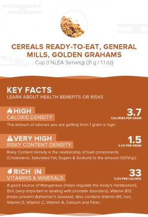 Cereals ready-to-eat, GENERAL MILLS, GOLDEN GRAHAMS