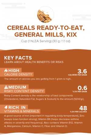 Cereals ready-to-eat, GENERAL MILLS, KIX