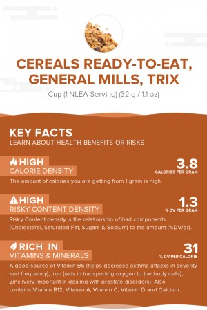 Cereals ready-to-eat, GENERAL MILLS, TRIX