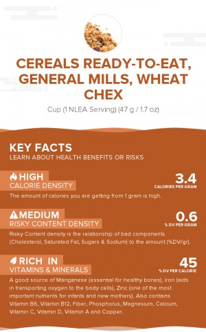 Cereals ready-to-eat, GENERAL MILLS, Wheat CHEX