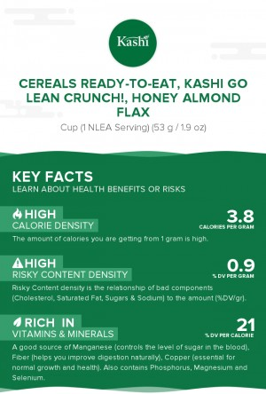 Cereals ready-to-eat, KASHI GO LEAN CRUNCH!, Honey Almond Flax