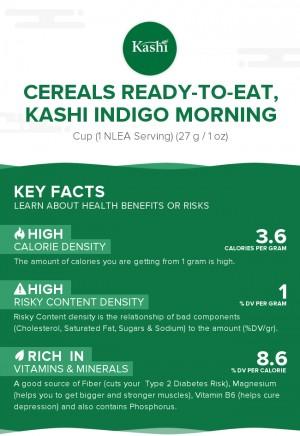Cereals ready-to-eat, KASHI INDIGO MORNING