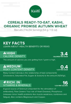 Cereals ready-to-eat, KASHI, ORGANIC PROMISE Autumn Wheat