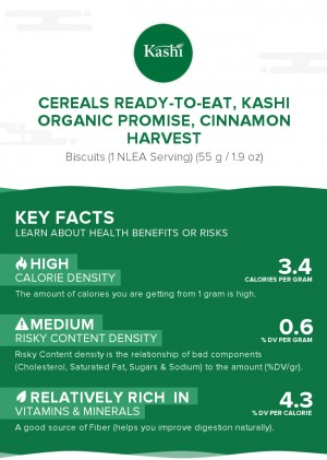 Cereals ready-to-eat, KASHI ORGANIC PROMISE, CINNAMON HARVEST
