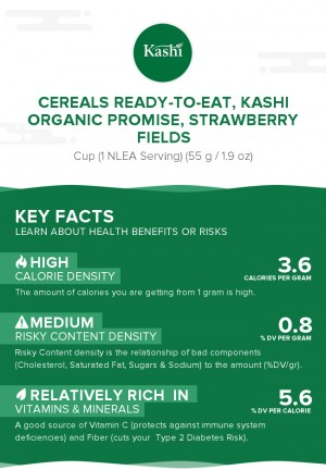 Cereals ready-to-eat, KASHI ORGANIC PROMISE, STRAWBERRY FIELDS