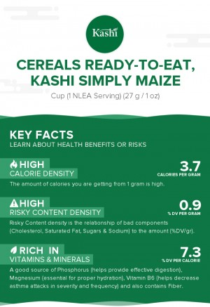 Cereals ready-to-eat, KASHI Simply Maize