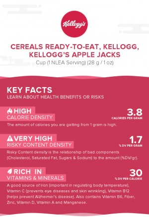 Cereals ready-to-eat, KELLOGG, KELLOGG'S APPLE JACKS